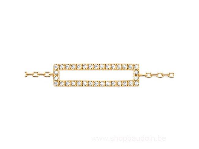 Bijoux CN Paris | Bracelet | Plaqué Or | Oxyde de Zirconium|97333518
