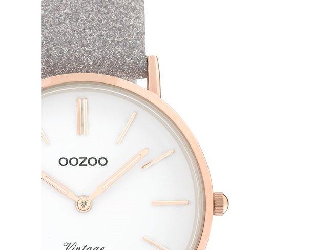 OOZOO | Cuir Taupe Scintillant | C20158