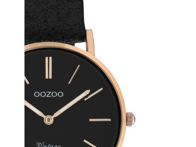 OOZOO | Cuir Noir Scintillant | C20159
