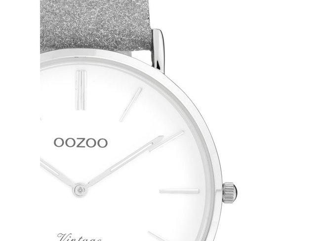 OOZOO | Cuir Argenté Scintillant | C20145