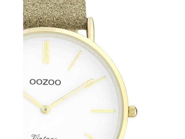 OOZOO | Cuir Doré Scintillant | C20148
