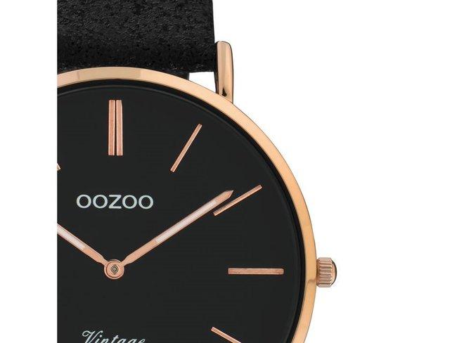OOZOO | Cuir Noir Scintillant | C20154