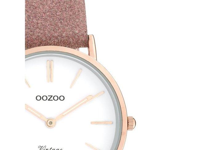 OOZOO | Cuir Vieux Rose Scintillant | C20157