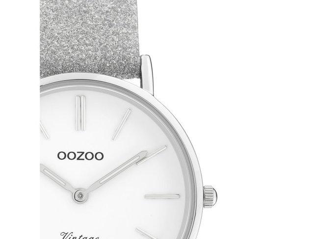 OOZOO | Cuir Argenté Scintillant | C20155