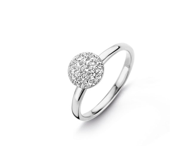 One More | Bague | Eolo | Or Blanc | Diamants | 91Z608/A