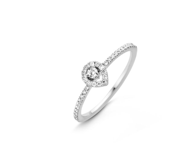 One More | Bague | Salina | Or Blanc | Diamants | 060107/A