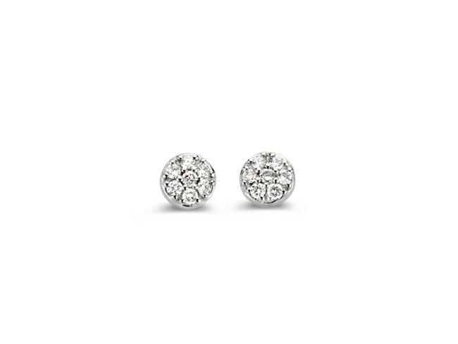 One More | Boucles d'Oreilles | Eolo |Or Blanc |Diamants|93FK