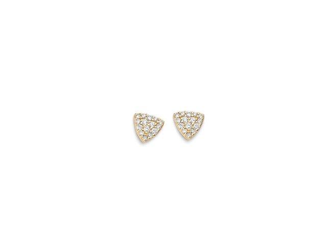 One More | Boucles d'Oreilles | Eolo |Or Jaune | Diamants |04