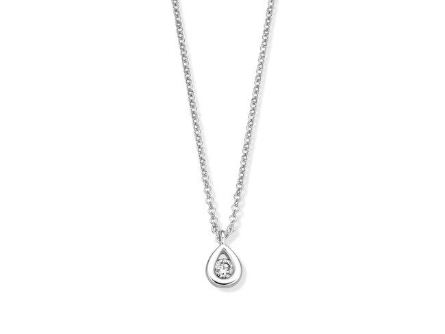 Loumya Gold | Collier | Or Blanc | Diamant | 92EB35/A
