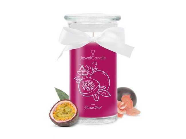 JewelCandle | Pink Passion Fruit | Swarosvki | Dès 32.95€