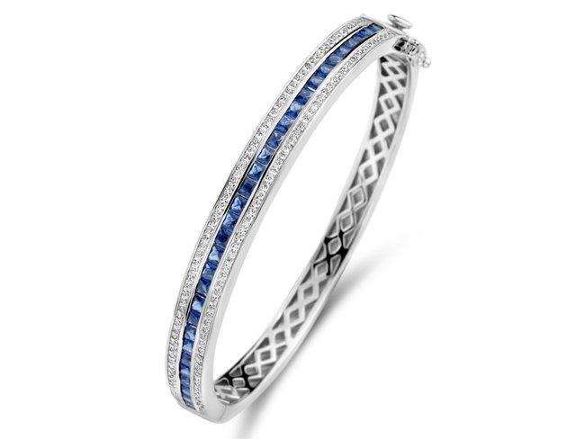 Naiomy Silver | Bracelet | Argent | Oxyude de Zirconium | N1B54