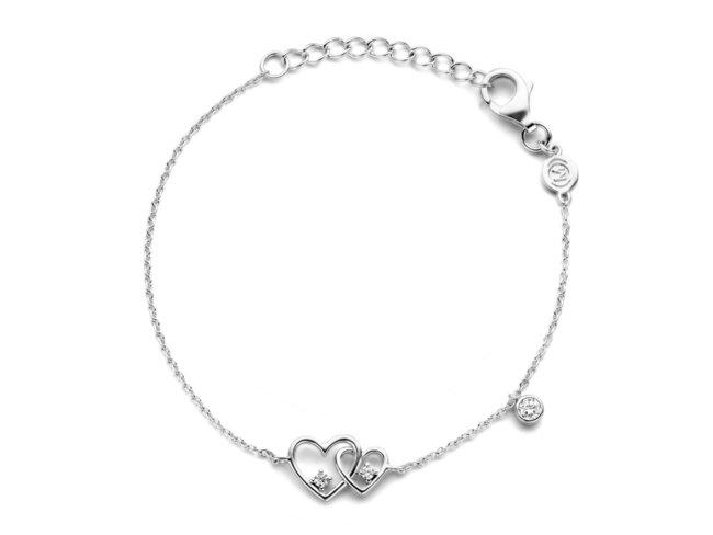 Naiomy Silver | Bracelet | Argent | Oxyde de Zirconium | B1G08