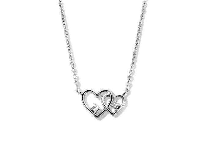 Naiomy Silver | Collier | Argent | Oxyde de Zirconium | B1G06