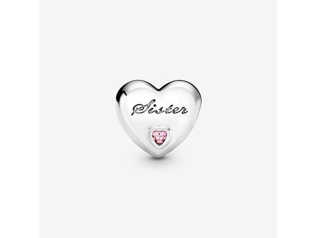 Pandora   Charm   Cœur Sœur   791946PCZ