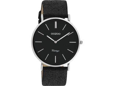 OOZOO | Cuir Noir Scintillant | C20153